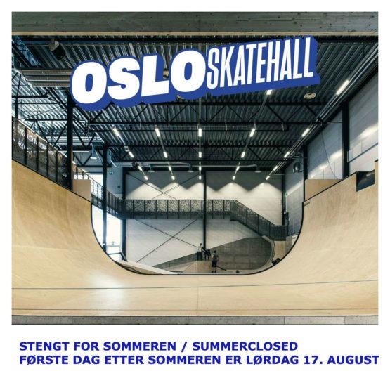 Osloskatehall Sommerstengt2019